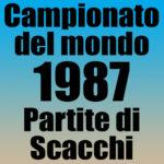 Partite del Campionato del Mondo di Scacchi 1987